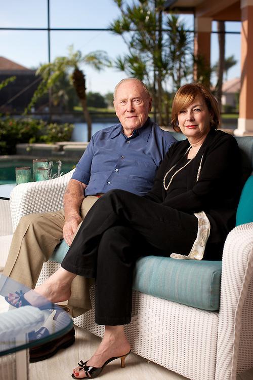Herbert and Carolyn Conant.  Photo by Brian Tietz