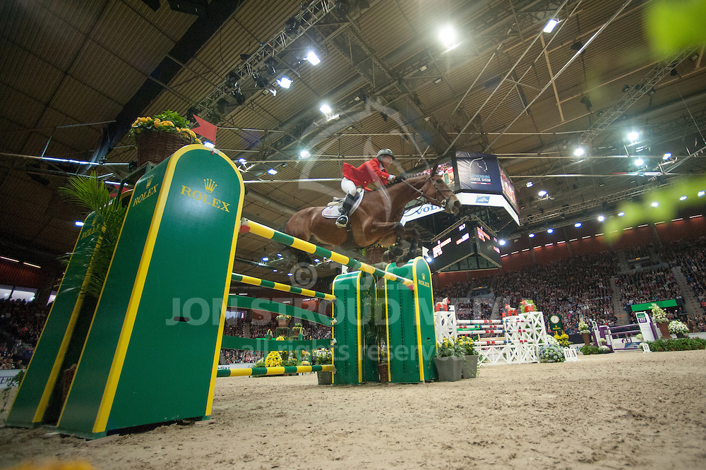 Beezie Madden (USA) & Simon - Rolex FEI World Cup Jumping Final 2 - Gothenburg Horse Show 2013 - Scandinavium, Gothenburg, Sweden - 26 April 2013