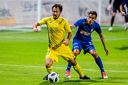 Tonci Mujan of NK Domzale during 2nd leg football match between NK Domzale and NK Siroki Brijeg in 1st Qualifying round of UEFA Europa League, on July 19, 2018 in Domzale Sports Park, Domzale, Slovenia. Photo by Ziga Zupan / Sportida