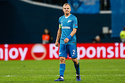 February 21, 2019 - Saint Petersburg, Russia - Aleksandr Anyukov of FC Zenit Saint Petersburg looks on during the UEFA Europa League Round of 32 second leg match between FC Zenit Saint Petersburg and Fenerbahce SK on February 21, 2019 at Saint Petersburg Stadium in Saint Petersburg, Russia. (Credit Image: © Mike Kireev/NurPhoto via ZUMA Press)
