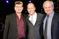 James Sellar, Todd Interland (Manager of the Year Award sponsored by Compact Collections)and Paul Gambaccini