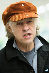 © Licensed to London News Pictures . 08/12/2014 . Manchester , UK . SIR BOB GELDOF at a branch of Asda in Trafford Park , Manchester , this morning ( 8th December 2014 ) for the CD launch of Band Aid 30 . Photo credit : Joel Goodman/LNP