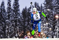 March 8, 2019 - –Stersund, Sweden - 190308 Iryna Kryuko of Belarus competes in the Women's 7.5 KM sprint during the IBU World Championships Biathlon on March 8, 2019 in Östersund..Photo: Johan Axelsson / BILDBYRÃ…N / Cop 245 (Credit Image: © Johan Axelsson/Bildbyran via ZUMA Press)
