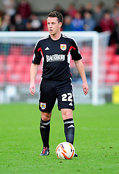 Bristol City's Nicky Shorey - Photo mandatory by-line: Robin White/JMP - Tel: Mobile: 07966 386802 21/10/2013 - SPORT - FOOTBALL - Selhurst Park - London - Crystal Palace V Fulham - Barclays Premier League