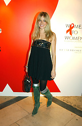 A party hosted by Mario Testino, Bianca Jagger and Kenneth Cole in collaboration with UNFPA and Marie Stopes International to celebrate the publication of Women to Woman: Positively Speaking - a book to raise awareness of women living with HIV/Aids, held at The Orangery, Kensington Palace, London on 2nd December 2004.<br />Picture shows:-SIENNA MILLER .<br /><br />NON EXCLUSIVE - WORLD RIGHTS