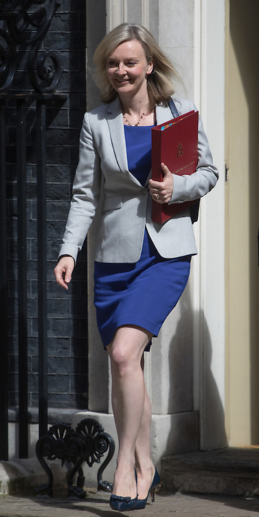 Environment Food and Rural Affairs Secretary Elizabeth Truss leaves Prime Minister David Cameron's final cabinet meeting following Theresa May's anticipated takeover as Leader of the Conservative Party and Prime Minister on Wednesday 13th July 2016.