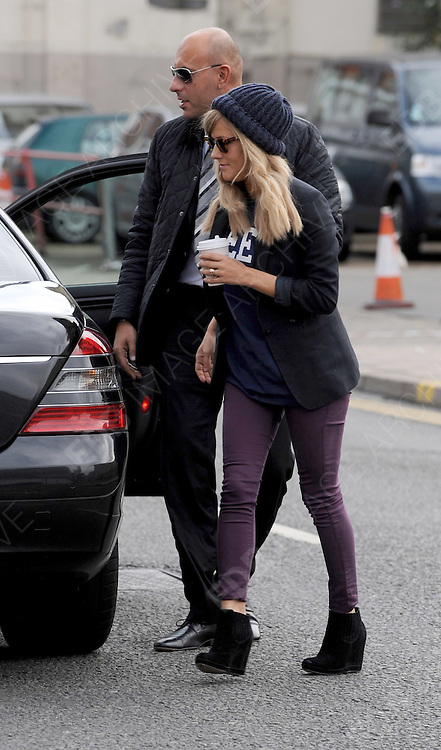 05.OCTOBER.2012. LONDON<br /> <br /> OLLY MURS, CAROLINE FLACK AND THE X FACTOR FINALISTS ARRIVE AT THE X FACTOR STUDIOS, LONDON<br /> <br /> BYLINE: EDBIMAGEARCHIVE.CO.UK<br /> <br /> *THIS IMAGE IS STRICTLY FOR UK NEWSPAPERS AND MAGAZINES ONLY*<br /> *FOR WORLD WIDE SALES AND WEB USE PLEASE CONTACT EDBIMAGEARCHIVE - 0208 954 5968*