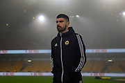 Wolverhampton Wanderers midfielder Rubén Neves (8) ahead of the Premier League match between Wolverhampton Wanderers and Liverpool at Molineux, Wolverhampton, England on 23 January 2020.
