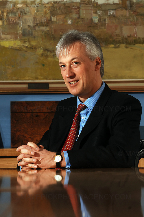 BUSINESS INTERVIEW ..Hugh Younger, senior partner of law firm, Murray Beith and Murray in Edinburgh.