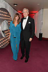 JEREMY KING and his wife LAUREN GURVICH at the GQ Men Of The Year 2014 Awards in association with Hugo Boss held at The Royal Opera House, London on 2nd September 2014.