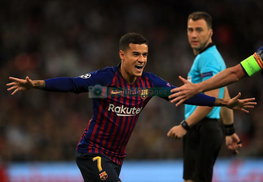 صور مباراة : توتنهام - برشلونة 2-4 ( 03-10-2018 )  38927145
