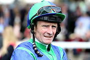 Jockey Kevin Manning at the York Dante Meeting at York Racecourse, York, United Kingdom on 17 May 2018. Picture by Mick Atkins.