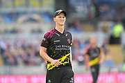 Max Waller of Somerset during the Vitality T20 Finals Day Semi Final 2018 match between Worcestershire Rapids and Lancashire Lightning at Edgbaston, Birmingham, United Kingdom on 15 September 2018.