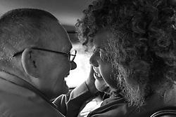 My Dear Friend. Miss Major, Stonewall Rebellion Survivor with her friend since 1963, activist Jay Toole. Oakland CA. 2013