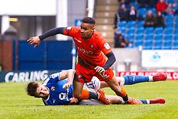 Laurence Maguire of Chesterfield brings down Paris Cowan-Hall of Wycombe Wanderers - Mandatory by-line: Ryan Crockett/JMP - 28/04/2018 - FOOTBALL - Proact Stadium - Chesterfield, England - Chesterfield v Wycombe Wanderers - Sky Bet League Two