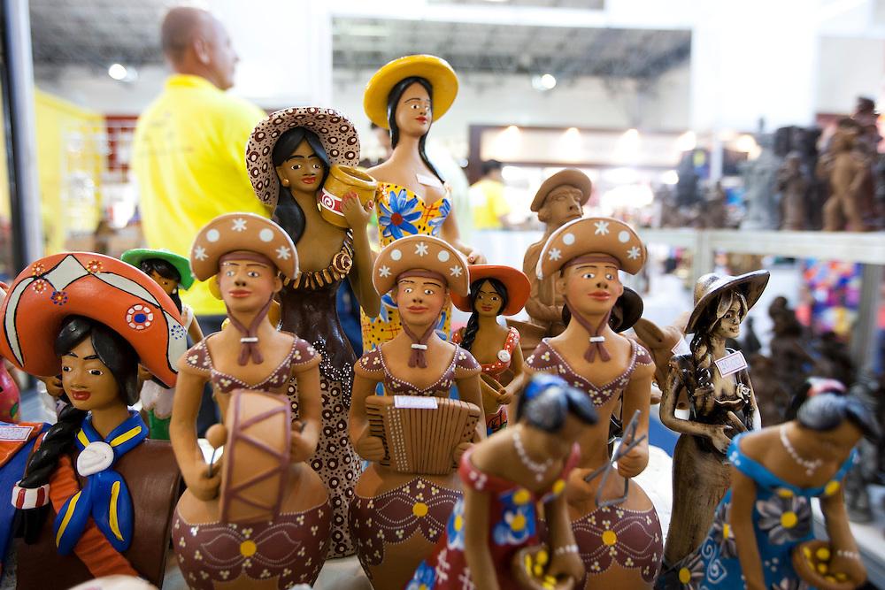 Belo Horizonte_MG, Brasil... XXI FNA (Feira Nacional de Artesanato) que acontece no Expominas, Belo Horizonte, Minas Gerais. Na foto artesanato...21th FNA (National Craft Trade Fair) in Expominas, Belo Horizonte, Minas Gerais. In this photo crafts...Foto: MARCUS DESIMONI / NITRO