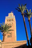 Kutubia Minar, Marrakech, Morocco