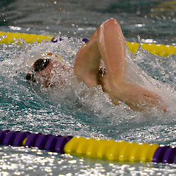 TOM KELLY IV &mdash; DAILY TIMES<br /> Dan Lawrey, of Haverford swims the 100m Freestyle and takes first place during the Haverford at Upper Darby swim meet, Friday afternoon.