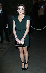 Maisie Williams  at the English National Ballet Christmas party in  London, Thursday, 12th December 2013. Picture by Stephen Lock / i-Images