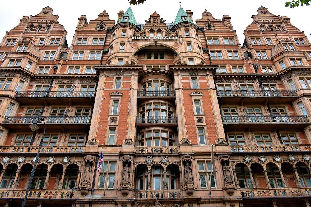 Hotel Russell in London, England<br />
