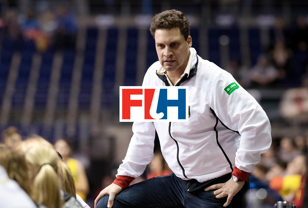 BERLIN - Indoor Hockey World Cup<br /> Women: Germany  - Australia<br /> foto: BOUCHOUCHI Akim.<br /> WORLDSPORTPICS COPYRIGHT FRANK UIJLENBROEK