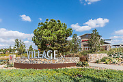 The Village at Tustin Legacy Stone Monument Sign