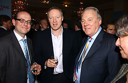 Left to right, BBC News political editor NICK ROBINSON, RORY BREMNER and PETER SISSONS at a party to celebrate the launch of The Business - London's First Global Business Magazine held at the Mandarin Oriental Hyde Park, 66 Knightsbridge, London on 11th October 2006.<br /><br />NON EXCLUSIVE - WORLD RIGHTS