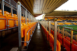 A general view of Molineux, home of Wolverhampton Wanderers with the new safe standing bars installed - Mandatory by-line: Robbie Stephenson/JMP - 19/08/2019 - FOOTBALL - Molineux - Wolverhampton, England - Wolverhampton Wanderers v Manchester United - Premier League