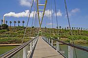Israel, Hadera, The Hadera River and park