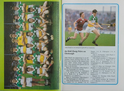 All Ireland Senior Hurling Championship Final,.07.09.1986, 09.07.1986, 7th September, 1986,.07091986AISHCF,.Cork 4-13, Galway 2-15,.Minor Cork v Offaly,.Senior Cork v Galway,..Offaly Minor Team, J Errity, P Nallen, R Mannion, D Sherlock, J Kilmartin, M Hogan (Birr) (capt), B Kelly, D Geoghegan, A Kelly, G Cahill, D Regan, R Byrne, T Moylan, M Duignan, D Pilkington, Sub, B Dooley for D Sherlock,.