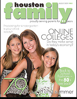 Houston Family Cover August 2009
