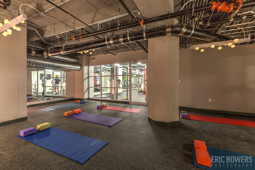 Yoga Room at Roaster's Block Apartments