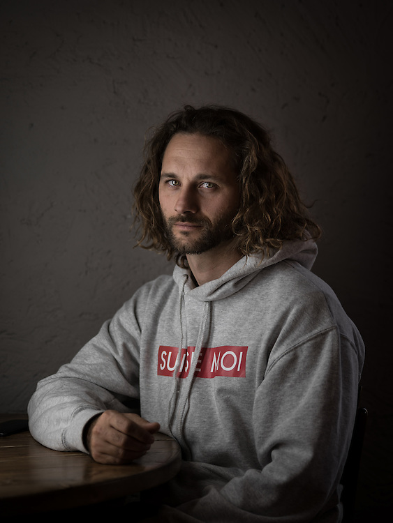 """Sylvain Nicolier, auteur du blog """"Suisse moi"""". Lausanne, 22 février 2017."""