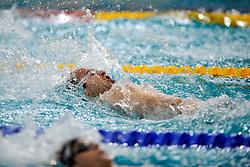 06-12-2008 ZWEMMEN: SWIMCUP: EINDHOVEN<br /> Nick Driebergen wint de 200 meter rug<br /> ©2008-WWW.FOTOHOOGENDOORN.NL