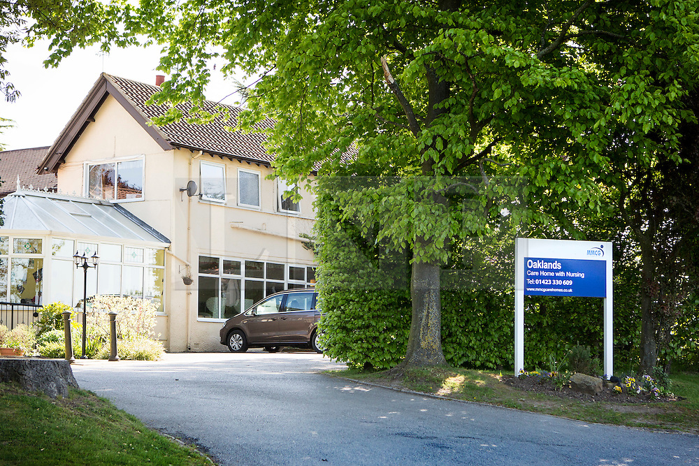 © Licensed to London News Pictures. 16/05/2016. Kirk Hammerton UK. The owners of the Oaklands Care home in Kirk Hammerton are to be prosecuted over the death of 91 year old Annie Doreen Barritt who died of hypothermia. Annie Doreen Barritt was taken to Harrogate Hospital after being found unwell in her room at the care home in November 2012, her temperature was found to be 25.3C at Harrogate's A & E department & she subsequently passed away. Following an investigation into her death by Harrogate council the owners of the home, Maria Mallaband Care Group Limited have been summonsed for one offence of breach of care, contrary to the Health & Safety at Work Act 1974. Photo credit: Andrew McCaren/LNP