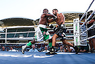"Boxing Antonio ""The Spartan"" Caruso vs Friday Nwaiwu at Adelaide Oval"