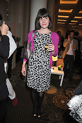 LADY LAURA CATHCART at a party to celebrate the relaunch of the Langham Hotel, Portland Place, London on June 10th 2009.
