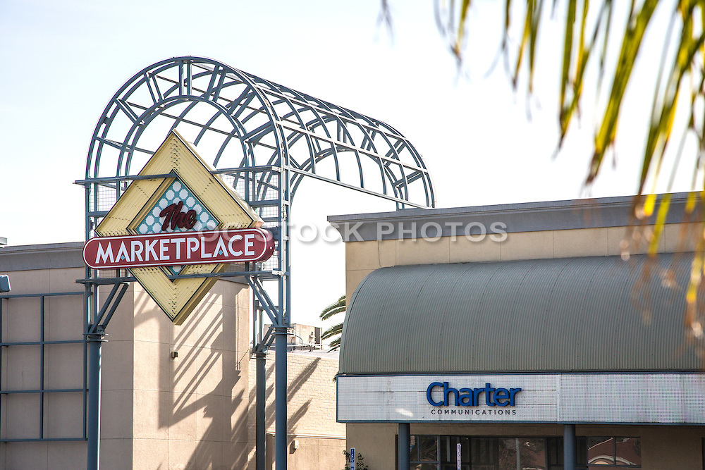 The Marketplace Shopping Center in Alhambra