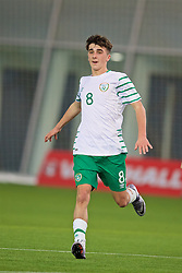 EDINBURGH, SCOTLAND - Friday, November 4, 2016: Republic of Ireland's Barry Coffey in action against Scotland during the Under-16 2016 Victory Shield match at ORIAM. (Pic by David Rawcliffe/Propaganda)