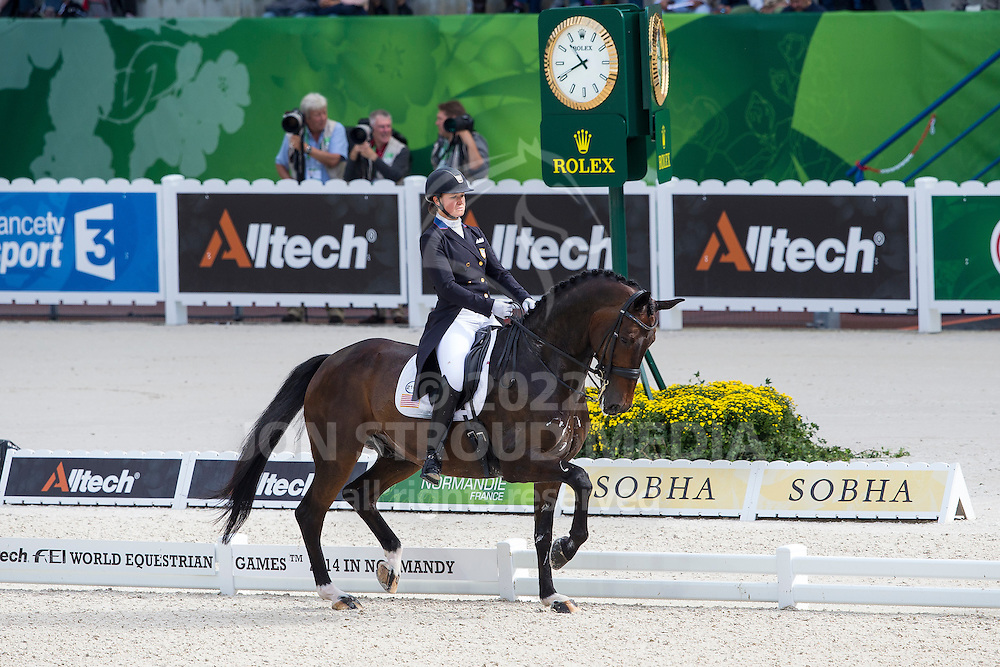 Adrienne Lyle, (USA), Wizard - Grand Prix Special Dressage - Alltech FEI World Equestrian Games&trade; 2014 - Normandy, France.<br /> &copy; Hippo Foto Team - Leanjo de Koster<br /> 25/06/14