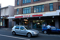 SPAR minimart, Newtown, Sydney, Australia. January 2nd-11th 2007
