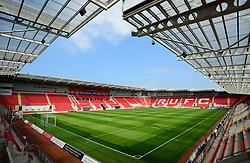 General view inside the New York Stadium. - Mandatory by-line: Alex James/JMP - 21/04/2018 - FOOTBALL - Aesseal New York Stadium - Rotherham, England - Rotherham United v Bristol Rovers - Sky Bet League One