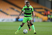 Forest Green Rovers Reece Brown(10) on the ball during the EFL Sky Bet League 2 match between Port Vale and Forest Green Rovers at Vale Park, Burslem, England on 23 March 2019.