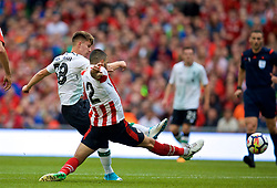 DUBLIN, REPUBLIC OF IRELAND - Saturday, August 5, 2017: Liverpool's Ben Woodburn scores the second goal during a preseason friendly match between Athletic Club Bilbao and Liverpool at the Aviva Stadium. (Pic by David Rawcliffe/Propaganda)