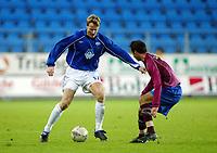 Fotball, 15. oktober 2003, UEFA - cupen, 1 runde, Molde Stadion, Molde-Leiria,  Trond Strande, Molde