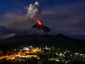 Mayon Volcano Erupts