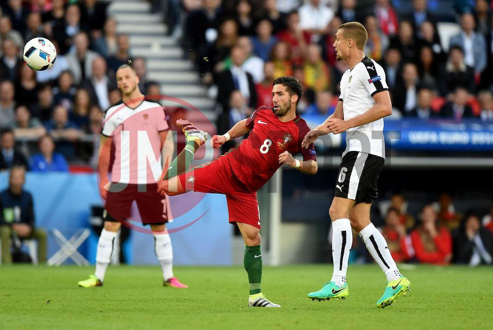 Joao Moutinho of Portugal flicks the ball forward  - Mandatory by-line: Joe Meredith/JMP - 18/06/2016 - FOOTBALL - Parc des Princes - Paris, France - Portugal v Austria - UEFA European Championship Group F