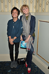 SOPHIE DAHL and JAMIE CULLUM at the opening night of People, Places & Things at The Wyndham's Theatre, Charing Cross Road, London on 23rd March 2016,