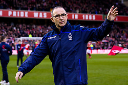Nottingham Forest manager Martin O'Neill waves to the fans in his first game in charge - Mandatory by-line: Robbie Stephenson/JMP - 19/01/2019 - FOOTBALL - The City Ground - Nottingham, England - Nottingham Forest v Bristol City - Sky Bet Championship