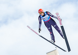 30.01.2016, Normal Hill Indiviual, Oberstdorf, GER, FIS Weltcup Ski Sprung Ladis, Bewerb, im Bild Anna Rupprecht (GER) // Anna Rupprecht of Germany during her Competition Jump of FIS Ski Jumping World Cup Ladis at the Normal Hill Indiviual, Oberstdorf, Germany on 2016/01/30. EXPA Pictures © 2016, PhotoCredit: EXPA/ Peter Rinderer